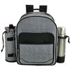 Picnic At Ascot Houndstooth Coffee Backpack Picnic Cooler