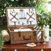 Picnic At Ascot Dorset Basket for Four with Blanket in Santa Cruz