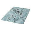 Ultimate Rug Co Floral Art Cella Teal Rug I