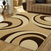 Ultimate Rug Co Rapello Torino Choc/Beige Rug II