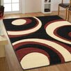 Ultimate Rug Co Rapello Torino Black/Red Rug II
