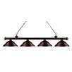 Z-Lite Riviera 4 Light Kitchen Island Pendant