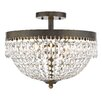 Z-Lite Danza 4 Light Semi Flush Mount