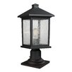 Z-Lite Portland 1 Light Outdoor Lantern Head