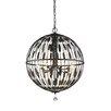 Z-Lite Almet 8 Light Globe Pendant