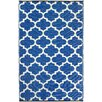 Fab Rugs World Tangier Regatta Blue & White Indoor/Outdoor Area Rug