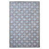 Fab Rugs Rheinsberg Powder Blue World Indoor/Outdoor Area Rug