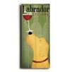 Artehouse LLC Labrador Wine Dog Wall Décor