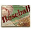 Artehouse LLC Baseball Wall Décor