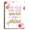Artehouse LLC New Years Sparkle Wall Décor