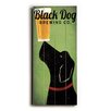 Artehouse LLC Black Dog Brewing Co Wall Décor