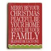 Artehouse LLC Merry Peaceful Joyful Wall Decor