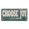 Artehouse LLC Choose Joy Wall Décor