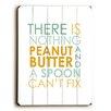Artehouse LLC Peanut Butter & Spoon Wall Décor