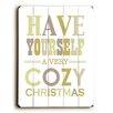 Artehouse LLC Cozy Christmas Wall Décor