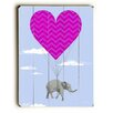 Artehouse LLC Elephant Love Wall Décor