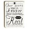 Artehouse LLC Our Scars Wall Décor