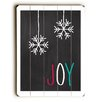 Artehouse LLC Joy Snowflakes Wall Décor