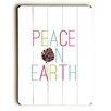 Artehouse LLC Peace on Earth Pine Cone Wall Décor