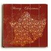 Artehouse LLC Merry Christmas Bells Textual Art