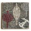 Artehouse LLC Silver Ornaments Graphic Art