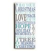 Artehouse LLC Love Hope Under the Tree Wooden Wall Décor