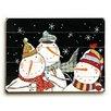 Artehouse LLC Three Snowmen Graphic Art