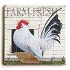 Artehouse LLC 'Farm Fresh' by Art Poulin Plaque