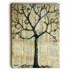 Artehouse LLC 'Winterlight Tree' by Blenda Tyvoll Graphic Art