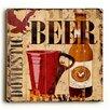 Artehouse LLC Beer Wall Art