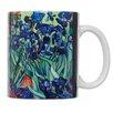 HAROLD IMPORT COMPANY Vincent Van Gogh Les Irises Fine Art Coffee Tea Mug (Set of 4)