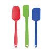 HAROLD IMPORT COMPANY Nonstick Heat-Resistant Flexible 3 Piece Silicone Spatula Set