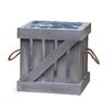 Quickway Imports Crate Square Planter Box