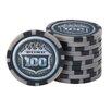 GLD Products Fat Cat Club Poker Chip Set
