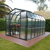 Rion Greenhouses Grand Gardener 2 Twin Wall 8 Ft. W x 12 Ft. D Polycarbonate Greenhouse