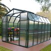 Rion Greenhouses Grand Gardener 2 Twin Wall 8 Ft. W x 9 Ft. D Polycarbonate Greenhouse