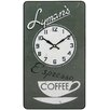 Roger Lascelles Clocks Lymans Coffee Wall Clock