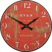 Roger Lascelles Clocks Ryan Flour Wall Clock