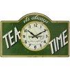 Roger Lascelles Clocks Tea Time Wall Clock