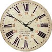 Roger Lascelles Clocks Large Scottish Railway Wall Clock