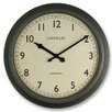 Roger Lascelles Clocks 45cm Large Metal Lascelles Circular Wall Clock