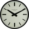 Roger Lascelles Clocks 40cm Large Metal Lascelles London Dial Circular Wall Clock