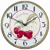 Roger Lascelles Clocks 36cm Bold Cherries Wall Clock