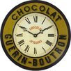 Roger Lascelles Clocks 36cm Guerin-Boutron Chocolate Wall Clock