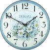 Roger Lascelles Clocks 36cm Wild Daisies Wall Clock