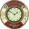 "Roger Lascelles Clocks 36cm ""Old Salt"" Nautical Wall Clock"