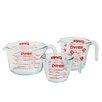 Pyrex 3 Piece Prepware Measuring Cup Set