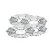 Godinger Silver Art Co Capri Dessert Platter (Set of 4)