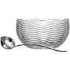 Godinger Silver Art Co Capri 160 Oz. Punch Bowl with Ladle