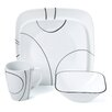 Corelle Simple Lines 16 Piece Dinnerware Set